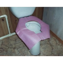Одноразовое сиденье для унитаза